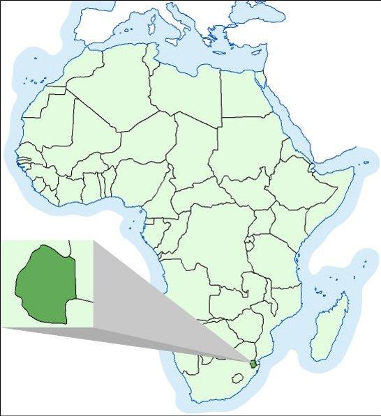 Datiranje s južnoafričkih država